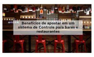 Sistema Para Bares e Restaurantes